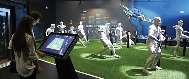 Coleções no Museu FC Porto