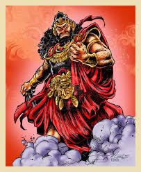 Raja Rahwana , asal usul Rahwana