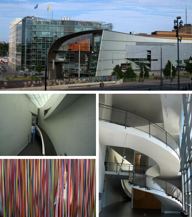 El Museo de Arte Contemporáneo se ubica junto al famoso ediificio de cristal Sonomat