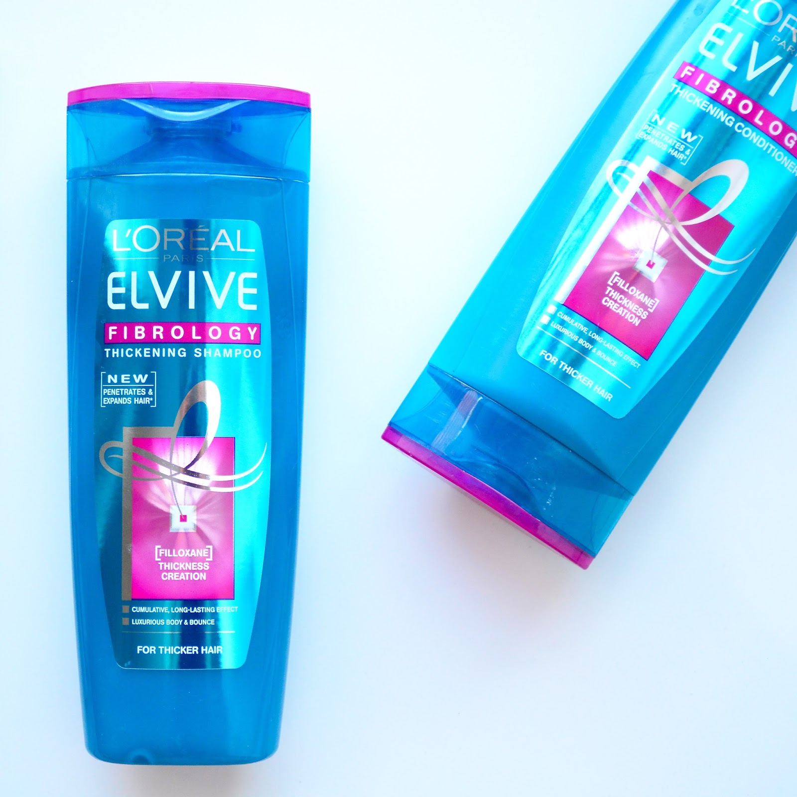 L'Oreal Elvive Fibrology Thickening Shampoo & Conditioner