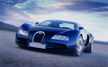 Wallpaper: Bugatti Veyron Grand Sport Bleu