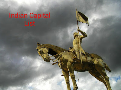 India Ke Sabhi States Capital names Ki Jankari