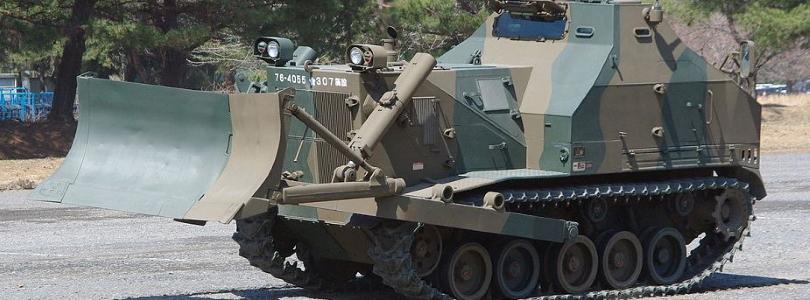 Японія замовила розробку нового бронебульдозера