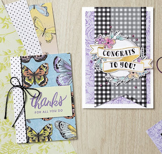 11 Botanical Butterfly Designer Paper Projects ~ Stampin' Up! Sale-a-Bration 2019