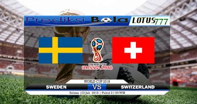 Prediksi Swedia Vs Swiss 3 Juli 2018