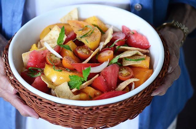 Lebanese Panzanella Salad