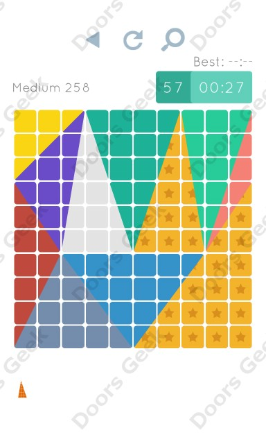 Cheats, Walkthrough for Blocks and Shapes Medium Level 258