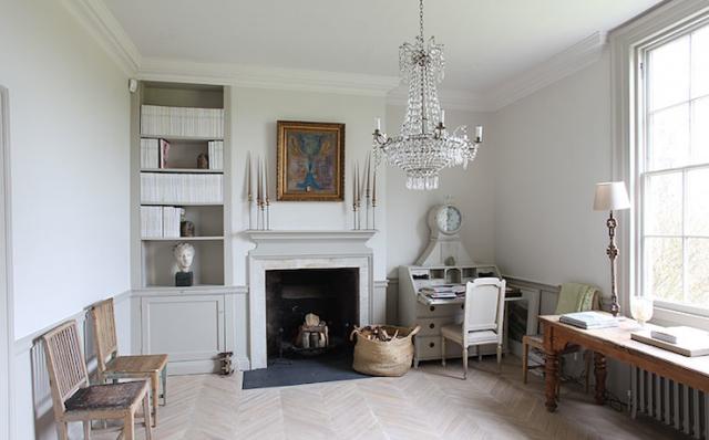 Noir blanc un style for Interieur maison gris et blanc