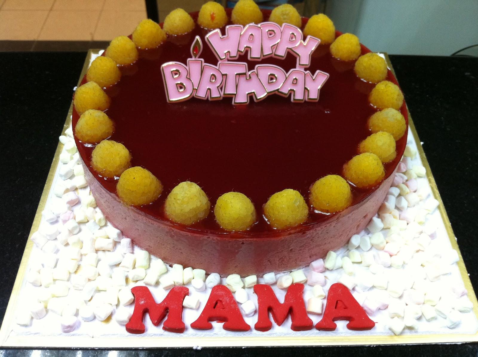 Haven Bakery: Raspberry Birthday cake