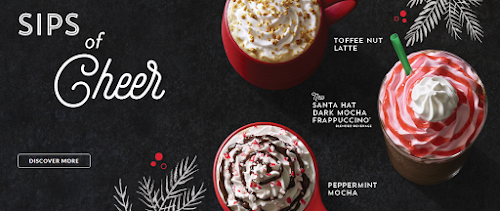Starbucks Holiday Featured Beverages