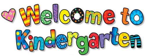 welcome to kindergarten - Welcome To Kindergarten Clipart