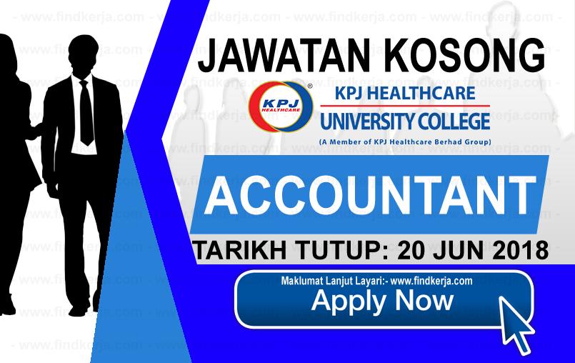 Jawatan Kerja Kosong KPJ Healthcare University College logo www.findkerja.com www.ohjob.info jun 2018