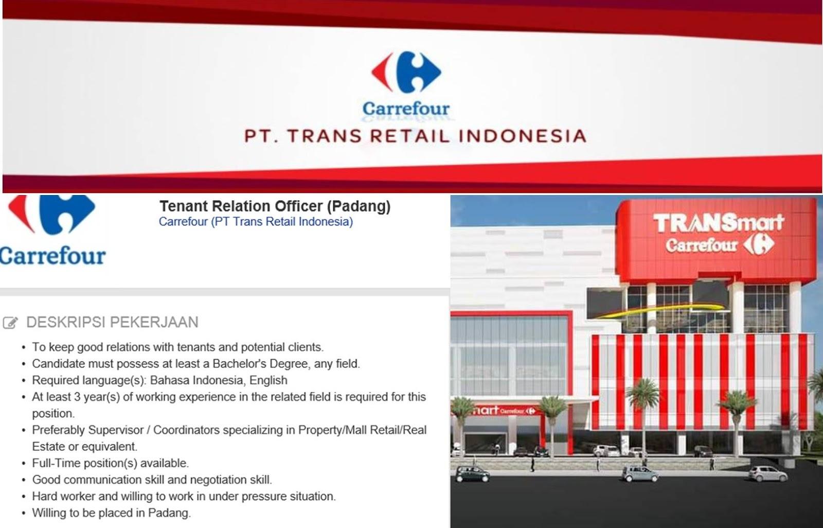 PT Trans Retail Indonesia – Padang Mei 2017