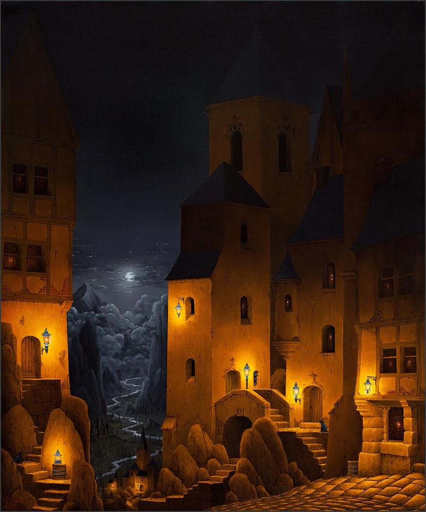 Marc Peltzer peintures: Clair obscur