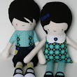Cloth dolls perfectly imperfect