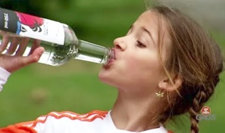 LITTLE GIRL Drinks Rum (with Bonus Footage)