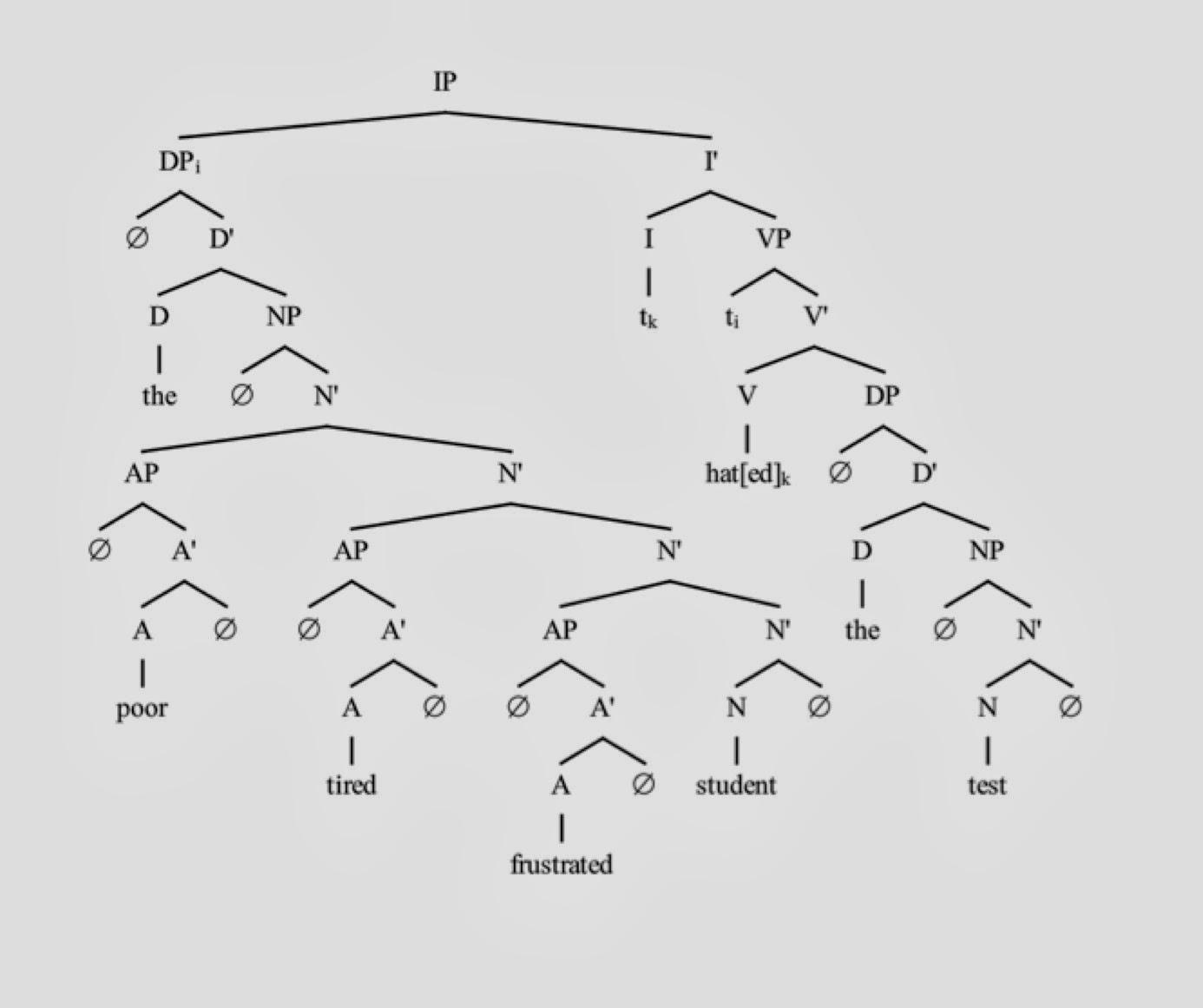 Middle School Linguistics  Sentence Diagrams