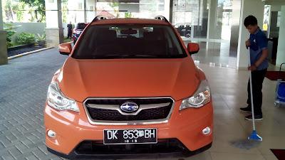 Subaru XV Orange Memang Lagi Menjadi Warna Primadona Di Bali