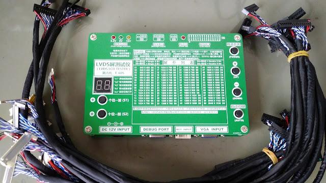 Testador de Telas LCD e LED de TV