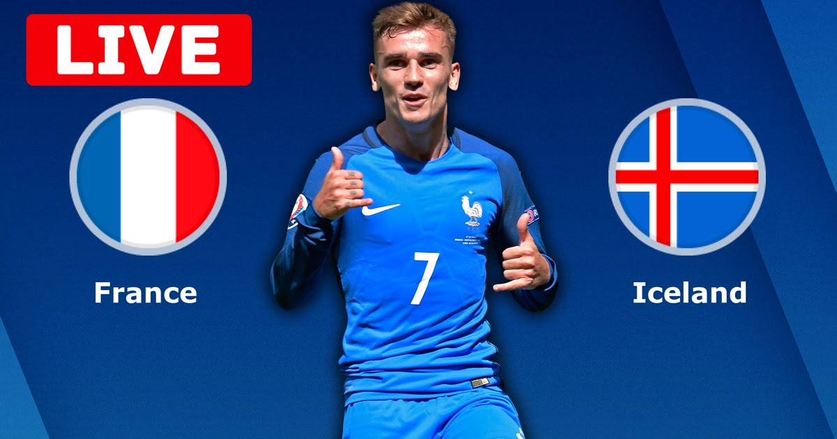 France v Iceland International Friendly LIVE Stream
