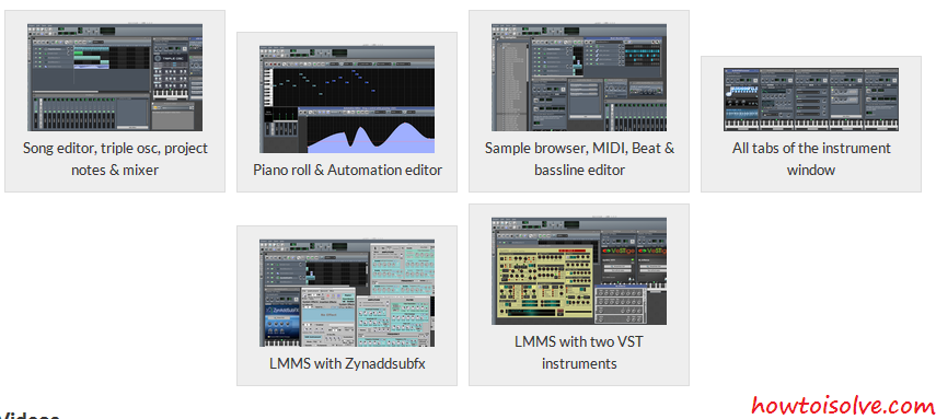 Best Audio editing software - LMMS