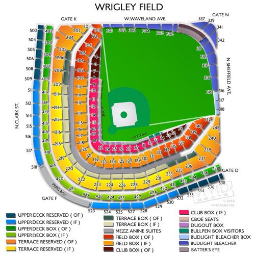 Wrigley field seating chart interactive seat map seatgeek also rh bouddhismeszenspot