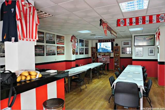 Peña Andoni Goikoetxea del Athletic Club en El Ejido, Almería