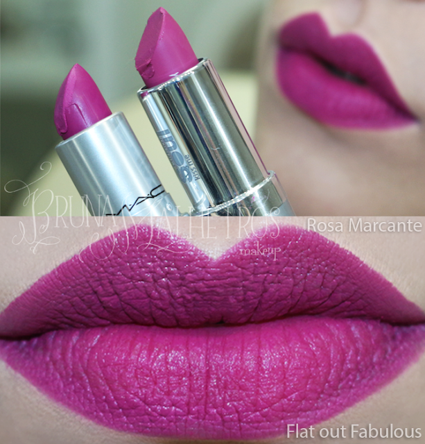 BATOM MATE ROSA FLAT OUT FABULOUS MAC