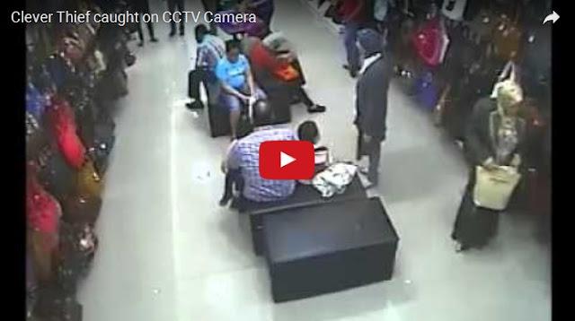 (VIDEO) Copet Berjilbab, Cerdik! Dia Tukar Tasmu, Tas Asli Dibawa Tanpa Ketahuan