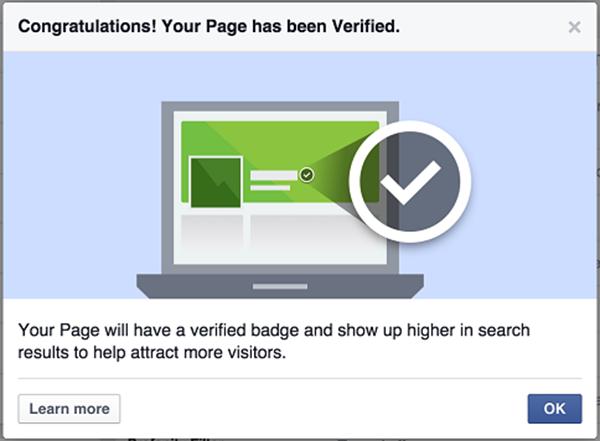 Lợi ích mà dấu tích xám mang lại cho fanpage facebook