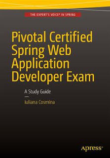 Spring study guide for Web Application developer exam