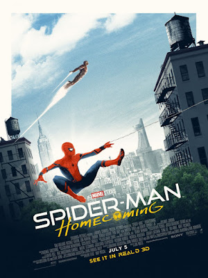 Odeon Cinemas Exclusive Marvel's Spider-Man Homecoming Movie Poster by Matt Ferguson