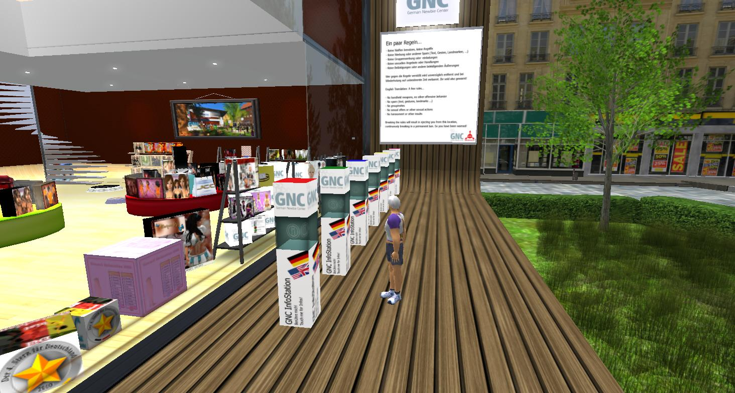 Virtual Outworlding: 2013 1stHELP: LANGUAGE: German in Second Life ...