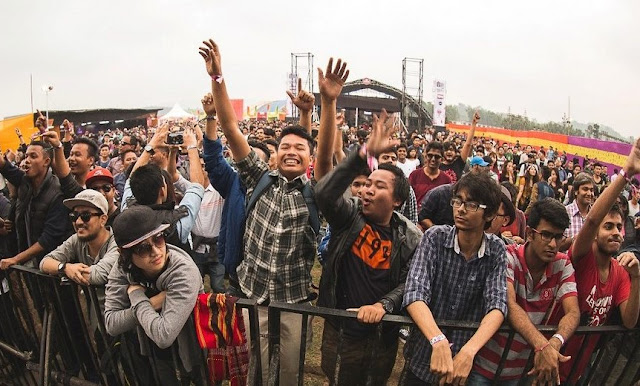 Music festival in shillong music dance party