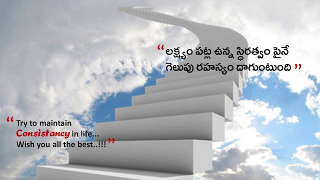 Best inspiring all the best quotes in telugu