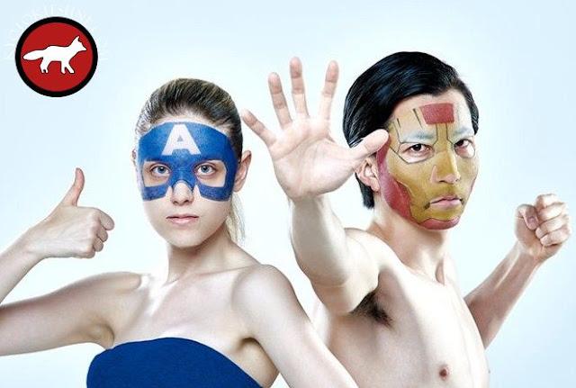 Masque de soin du visage Marvel pour homme et femme fabriqué au Japon