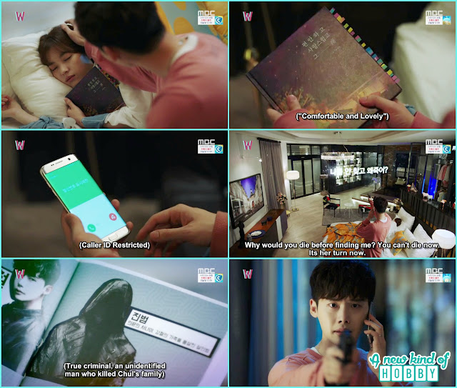 killer warning kang chul to kill yeon jo life in danger - W - Episode 7 Review - Korean Drama 2016