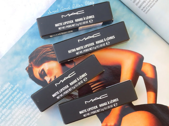 MAC Lipsticks from Kuala Lumpur, Malaysia