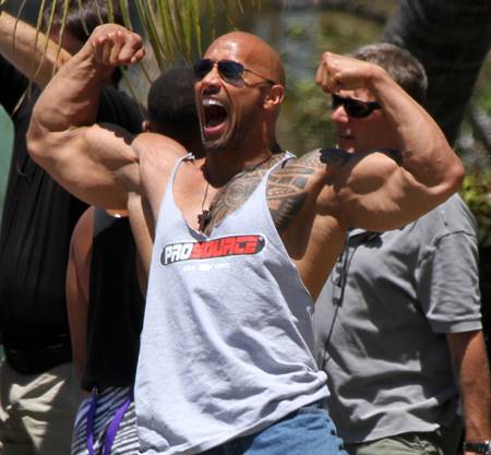 The Rock On Steroids - Dwayne Johnson HGH