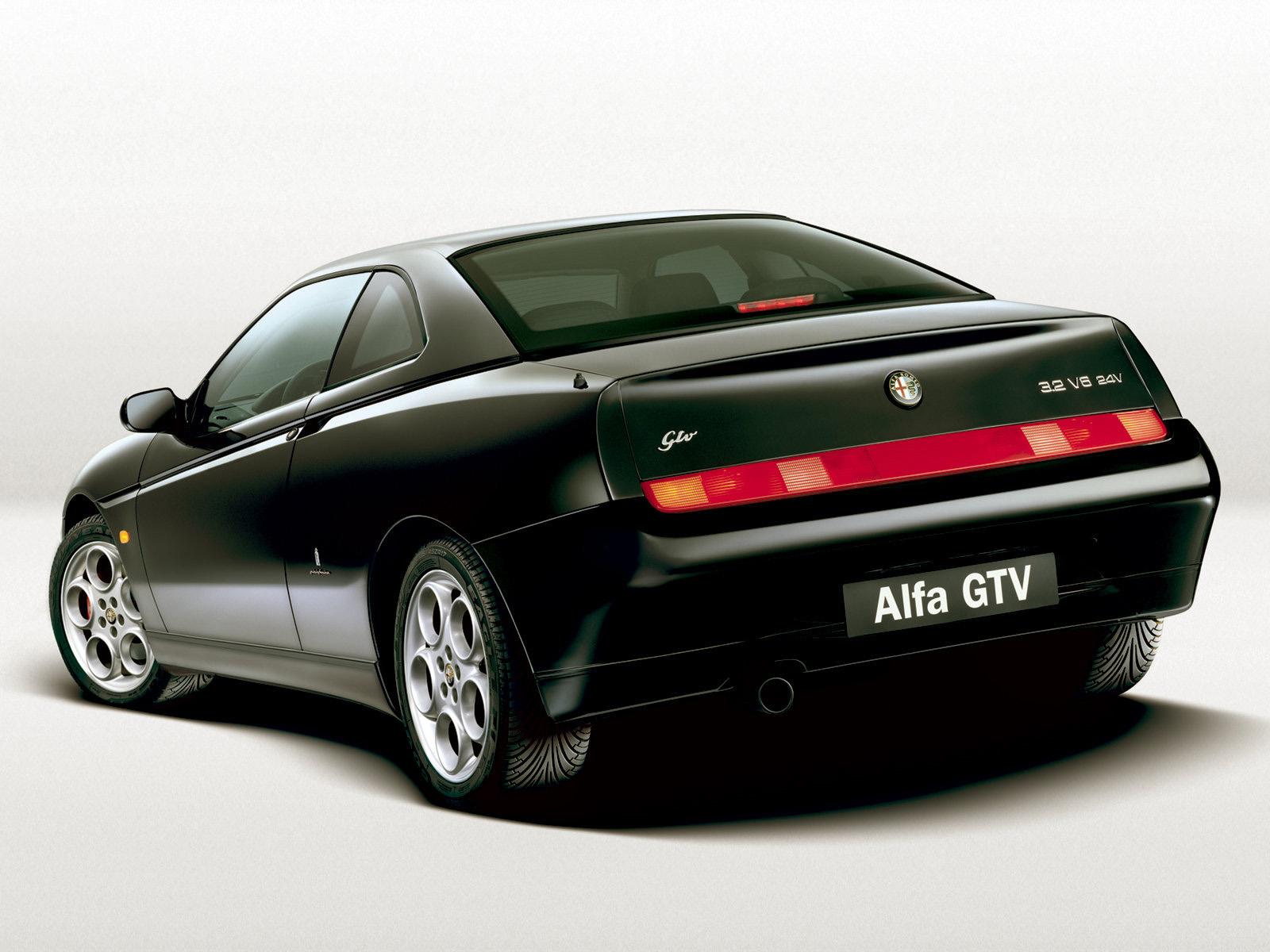 automotive database alfa romeo gtv spider. Black Bedroom Furniture Sets. Home Design Ideas