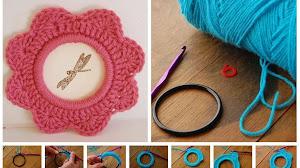 Servilletero crochet paso a paso super fácil