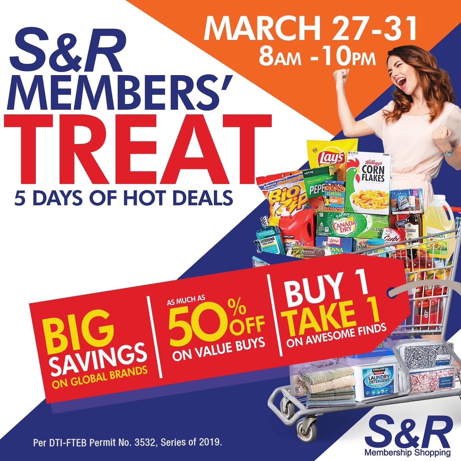 S&R Members' Treat 2019