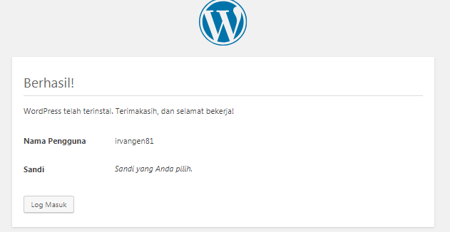 Tutorial Install WordPress di cPanel Hosting` 14