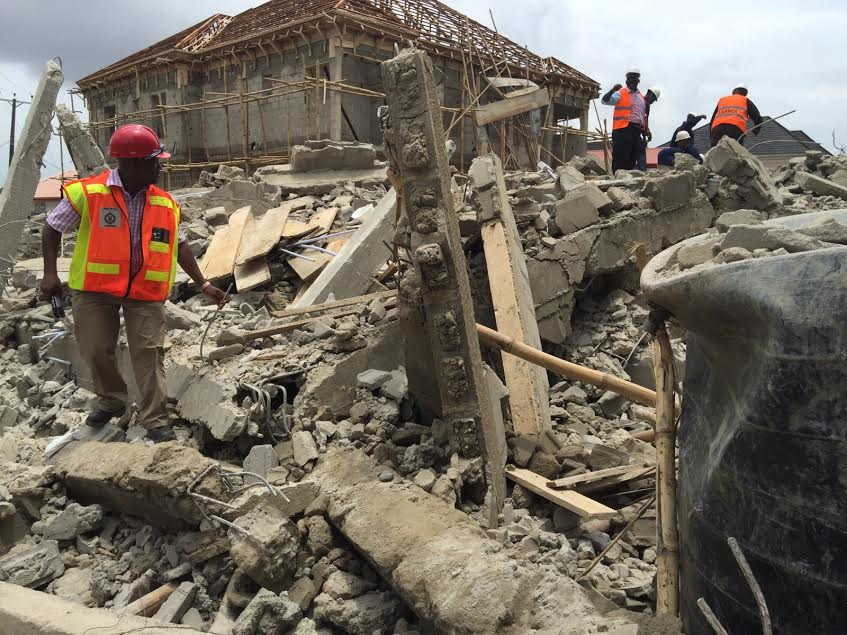 building collapse lagos