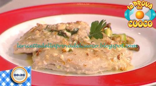 Saltimbocca con provola zucchine e funghi trifolati ricetta Improta da Prova del Cuoco