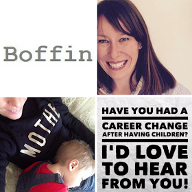 children changing careers Lucy from Boffin recruitment
