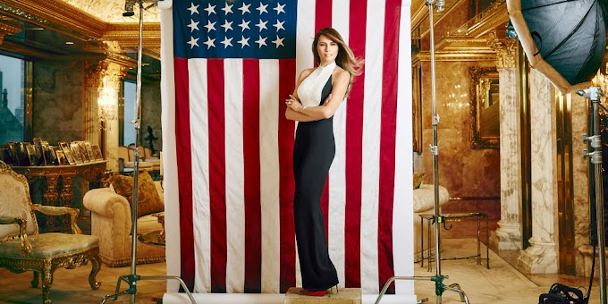 Evolusi Gaya Melania Trump, First Lady Amerika ke-45