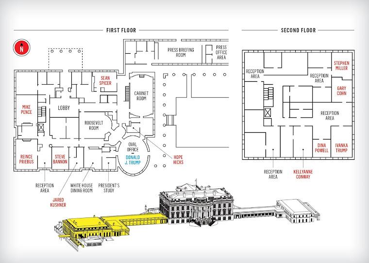 Map Donald Trump White House