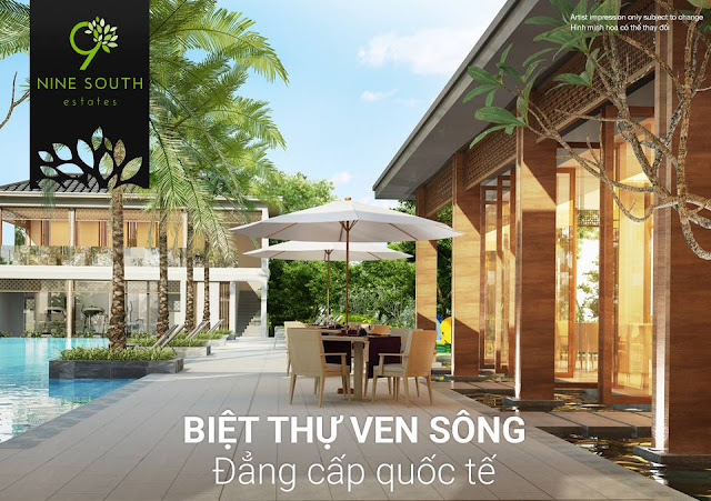 Nine South Estates luxury villa project of VinaCapital