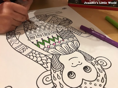 Twinkl Chinese New Year mindfulness colouring